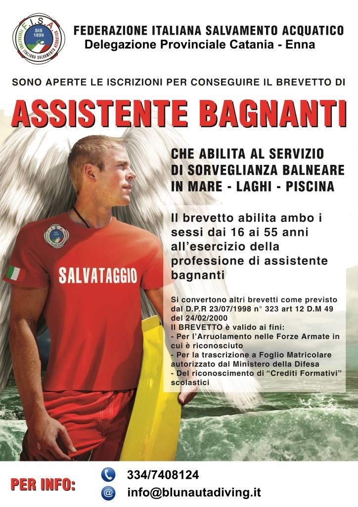 Immersioni Sicilia-Corsi per bagnino F.I.S.A.-Blunauta Diving Center Milazzo