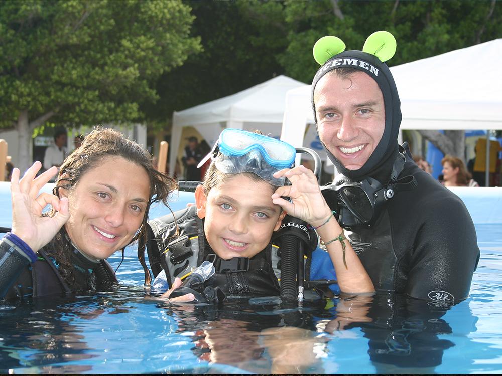Corsi subacquei Sicilia-Corsi a persone con disabilità-Blunauta Diving Center